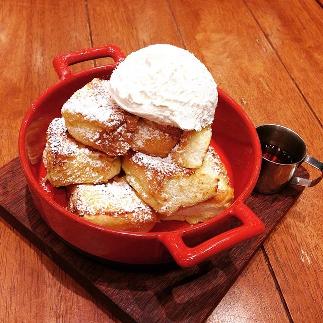The Famous (and expensive) French Toast.