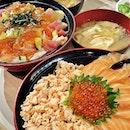 Chirashi to curb my Japanese food cravings!