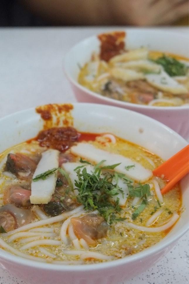 Sungei Road Laksa ($3)