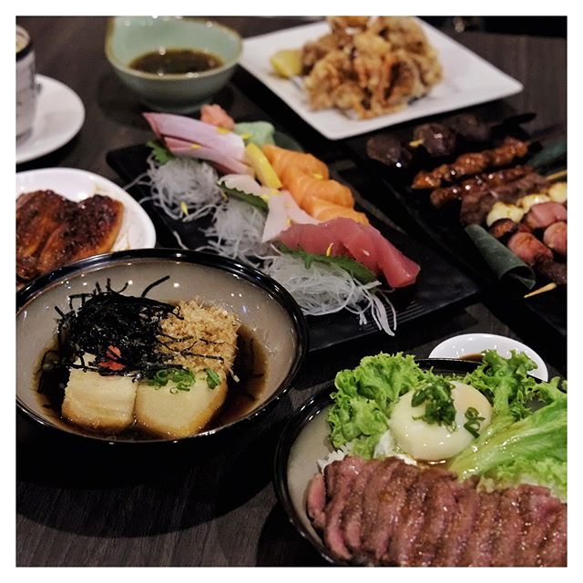 Throwback to a night of feasting on Japanese cuisine with fellow foodies at @barashitei!