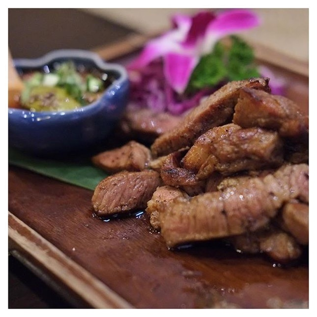 Grilled Kurobuta Pork Collar