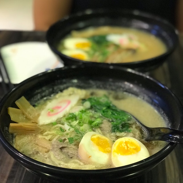 Gyu Niku Ramen ($17.80) & Shoyu Char Siew Ramen ($11.80)