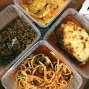 Homemade Beef Lasagna ($24), Seafood Linguine ($28), Mushroom Risotto ($20), Spinach & Ricotta Tortellini ($22)