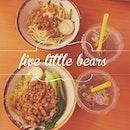 • 五隻小熊 •