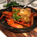 Lobster In A Clay pot