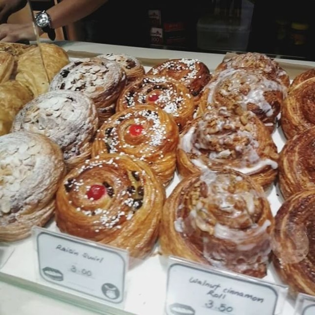 Tantalising array of pastries at @kokomama.marketplace!
