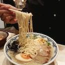 Dinner today with @lloyd_lambo and Vivi at Yoshimaru Ramen Bar!