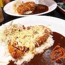 Cheesy Chicken Katsu Curry Rice  from @monstercurrysg!