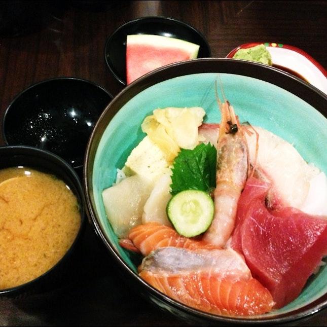 Chirashi Don @ Meii Sushi