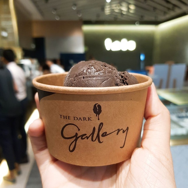 Signature 80% Dark Chocolate Single Scoop ($5)