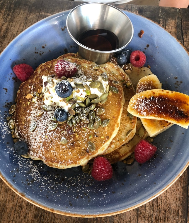Pancakes That Hit The Spot