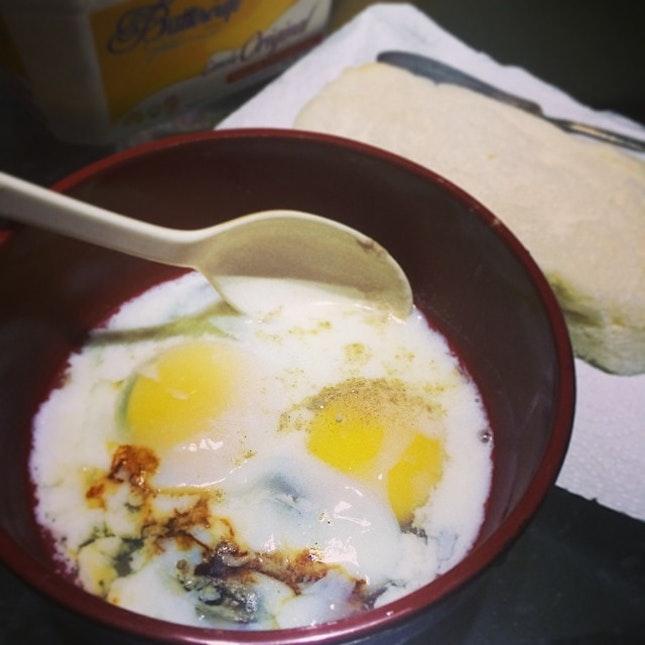 My favorite kind of breakfast.