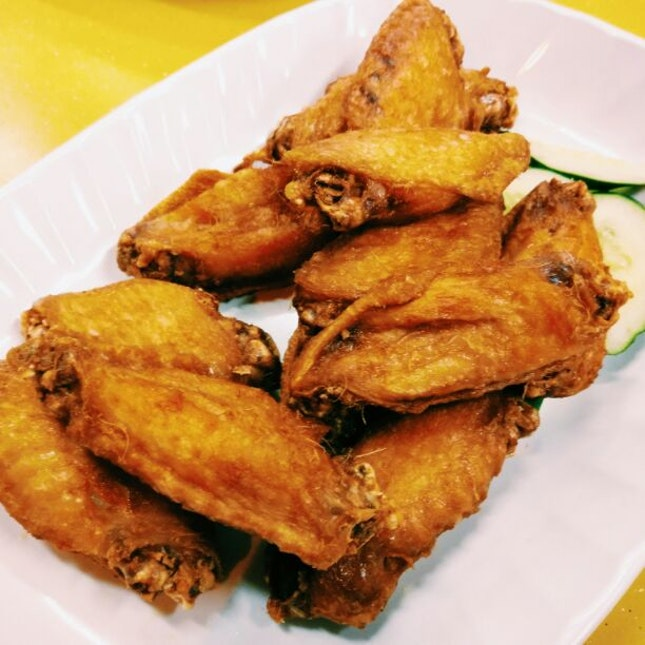 Indo-style Fried Chicken Wings