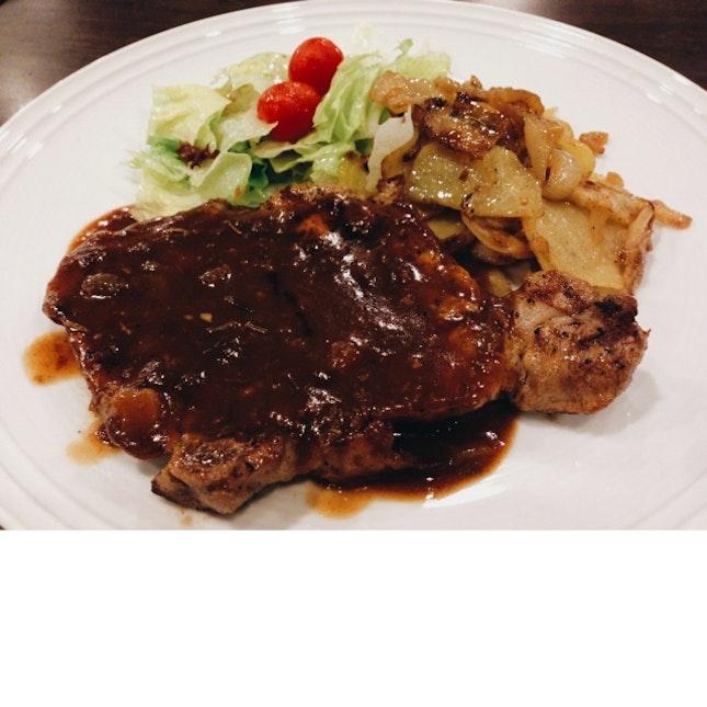 Barbecued Pork Chop
