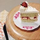 Elderflower Strawberry Cake