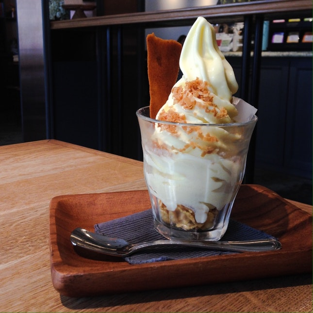 Passionfruit Soft Serve ($7.90++)