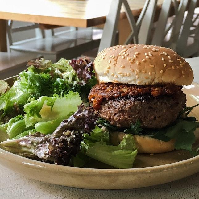 Wild Rocket Beef Burger