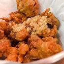 Sweet Onion Fried Chicken