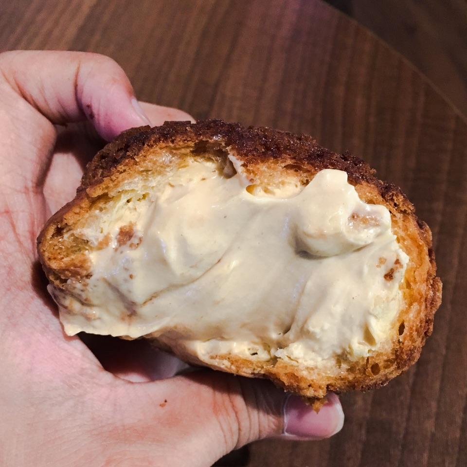 Hazelnut Choux Puff