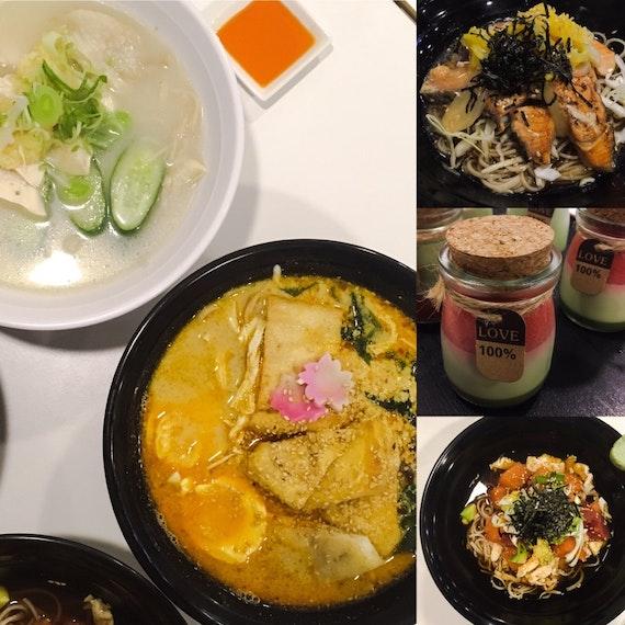 Burpple Tastemaker Eatup at Healthy Soba IKI