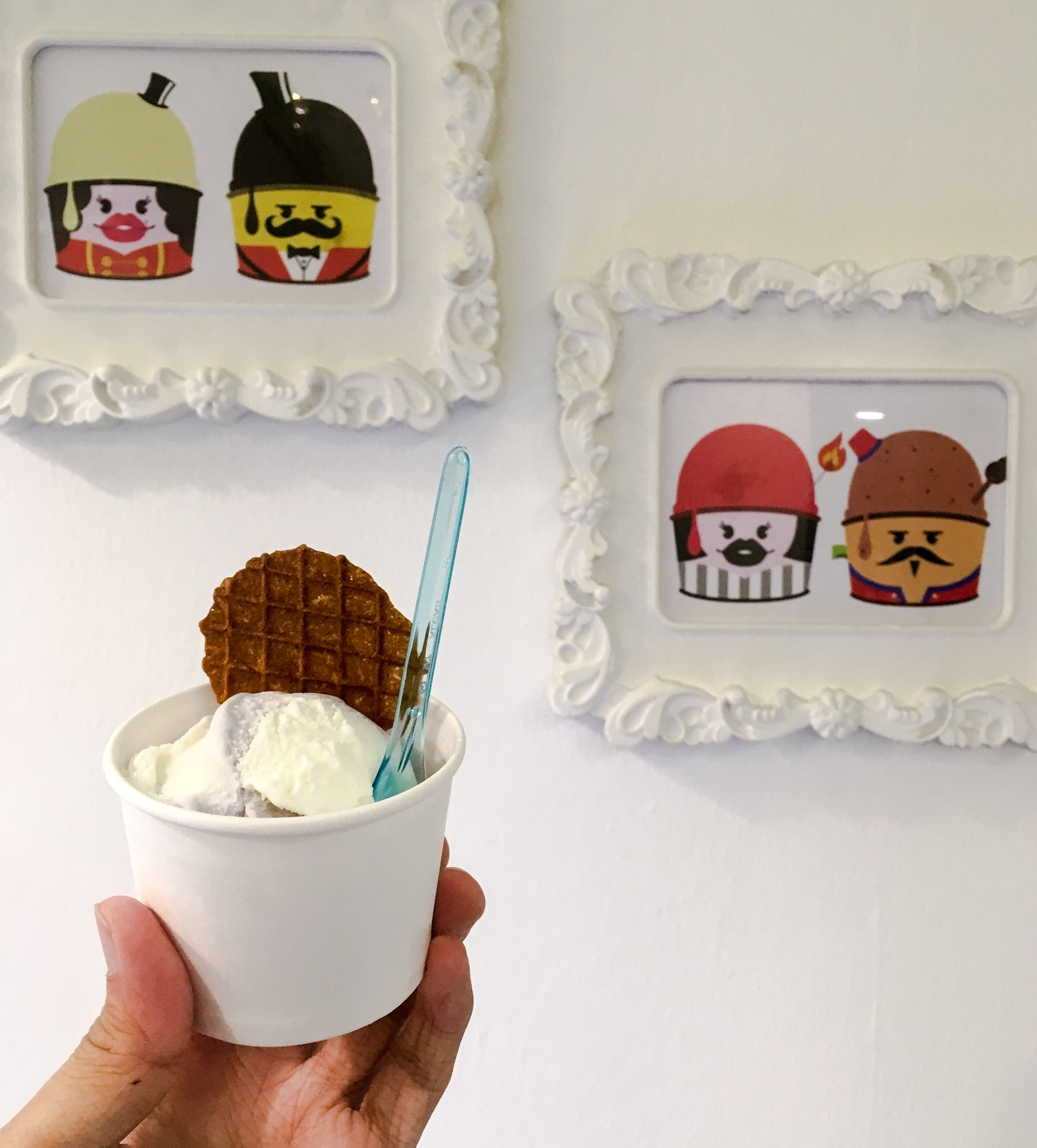 Ice-Cream Man And Friends