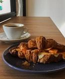 Kimcheese Croissant Sandwich