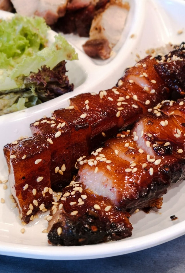 "Crystal BBQ Pork Belly ""Cha Siu"""