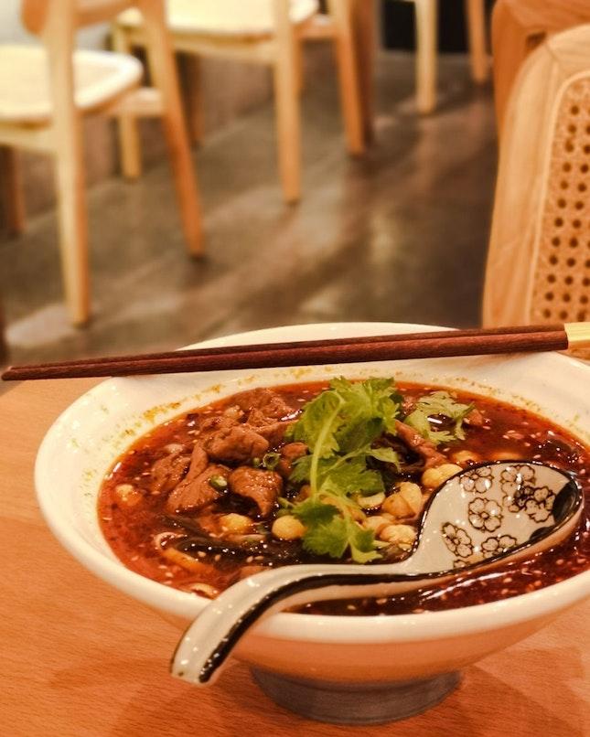 Signature Braised Pig Intestines Noodles