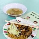 Char Siew & Dumpling Noodles