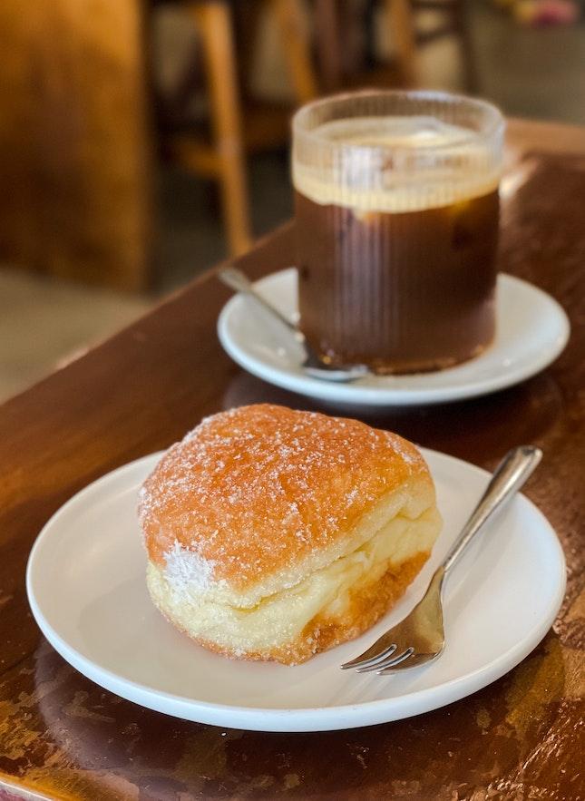 Taro & Coconut Donut