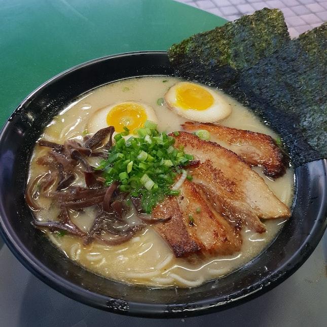 Tonkotsu Ramen [Large, $7.90]