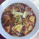 Top view: Soto Ayam #food