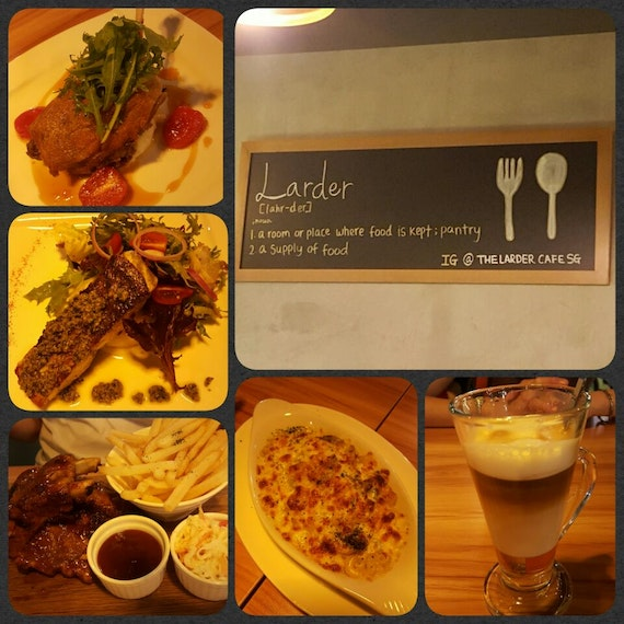 Sunday Dinner @ The Larder Cafe
