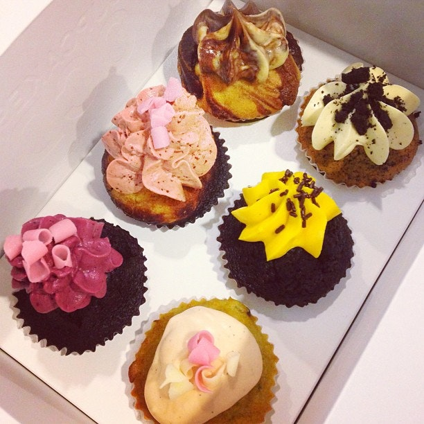 Thanks mummy for these lovely cupcakes!
