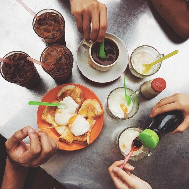 I miss simple breakfast like this 😋