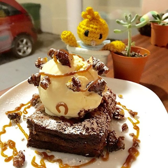Possibly the softest brownie ever.