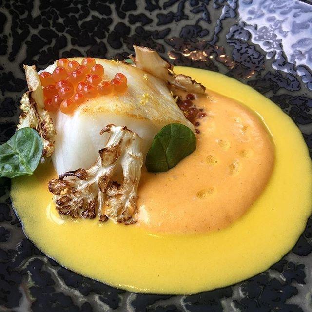 This Patagonian Toothfish was a beautiful, beautiful dish.