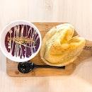 Purple Sweet Potato Soup ($8.50)