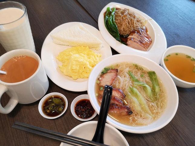 HK Cafe Food