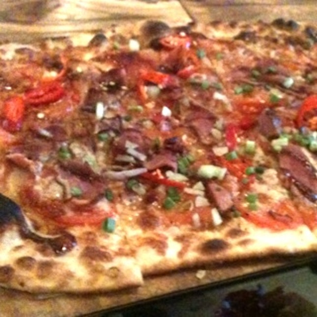 Smoked Duck Pizza ...