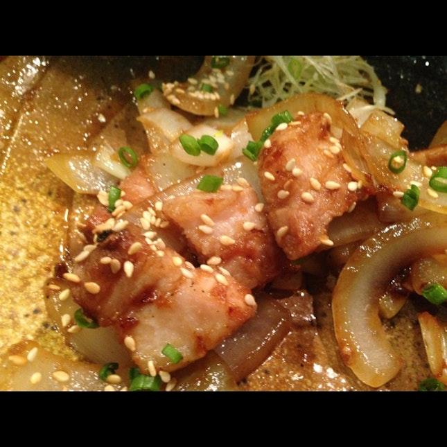 Pork Shiogayaki