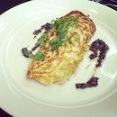 Crab Omelette.