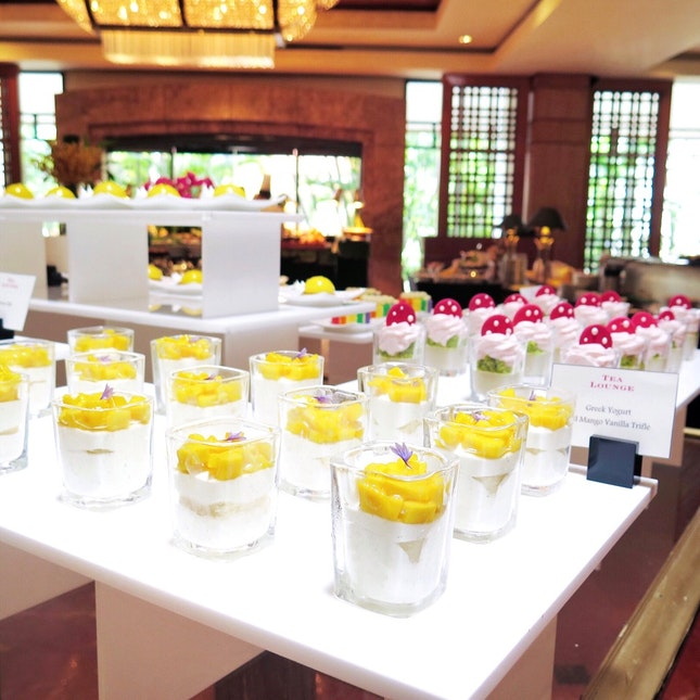 Weekend High Tea Buffet [$61++]