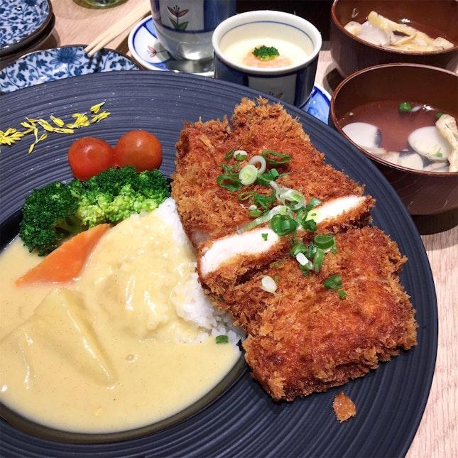 Set C: Crunchy Chicken Katsu [$15.80]
