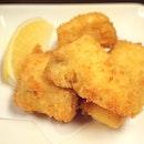 Cheese Fry カマンベールフライ [$9]