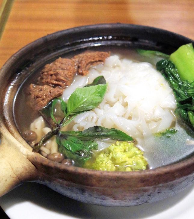 Vietnam Kueh Teow Soup 越南素砂锅粿条汤 [$6.90]