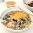 Minced Meat Noodle Soup [$4.50/$5.50]