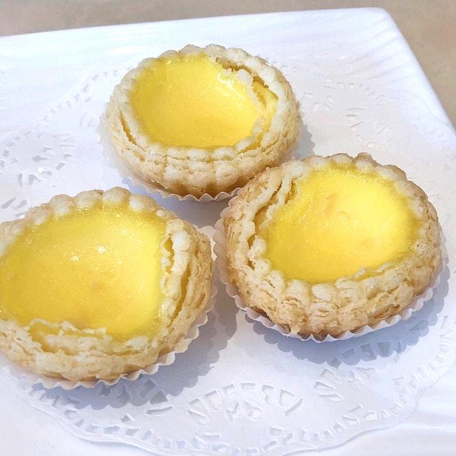Baked Mini Egg Tart 酥香焗蛋挞 [$5.30 for 3 Pieces]