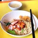 Wanton Noodles [$4]