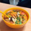 Milky Tom Yum with Seafood [$11.90]